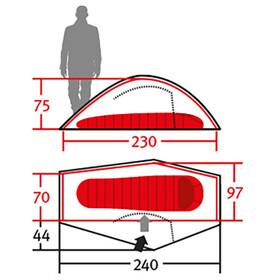 Wechsel Pathfinder Unlimited Line Tent, cress green